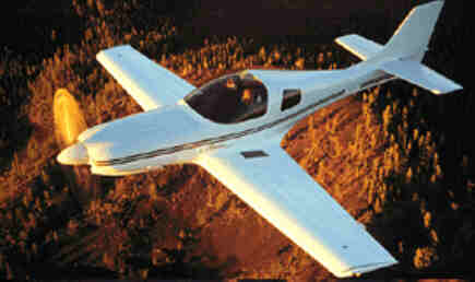 360a-fin.jpg - 12.70 K  Lancair 360 in flight